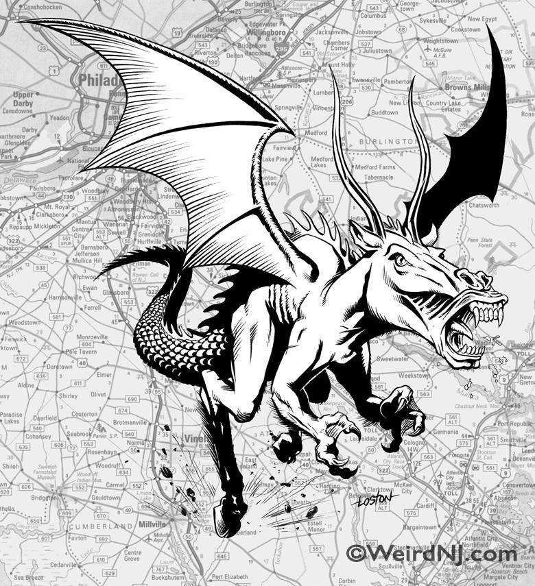 The Jersey Devil | Weird NJ