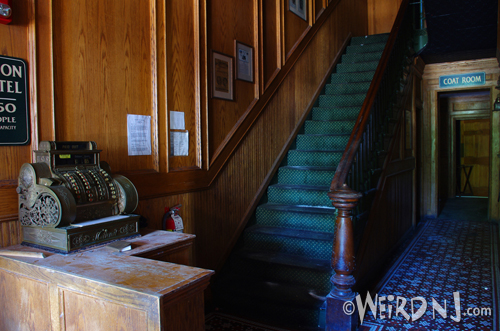 Register & Stairs