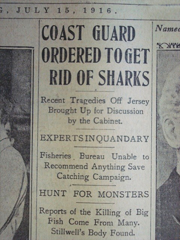 """The Matawan Man-eater: The Real New Jersey """"Jaws"""" of 1916 