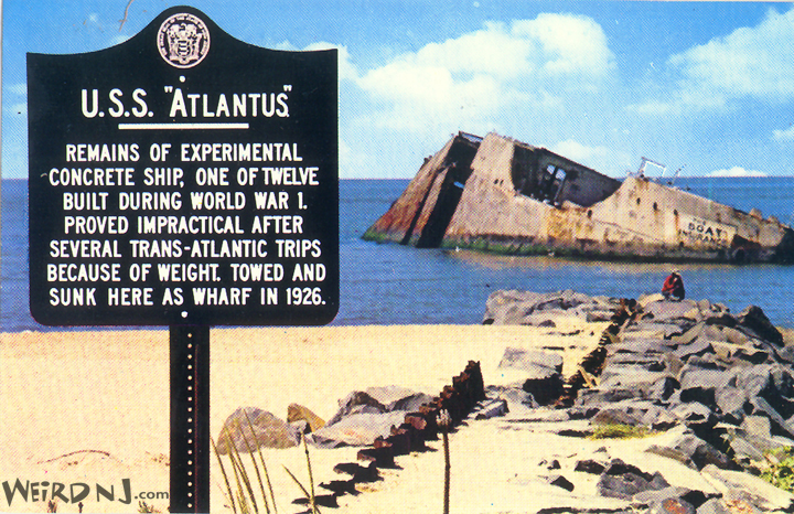 ATLANTUS Postcard
