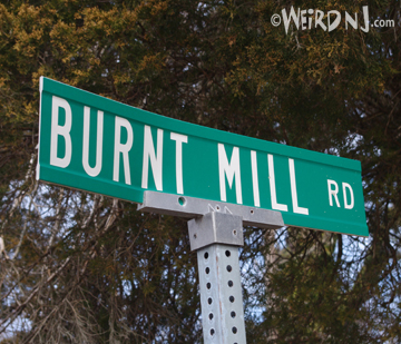 Burnt Mill Sign