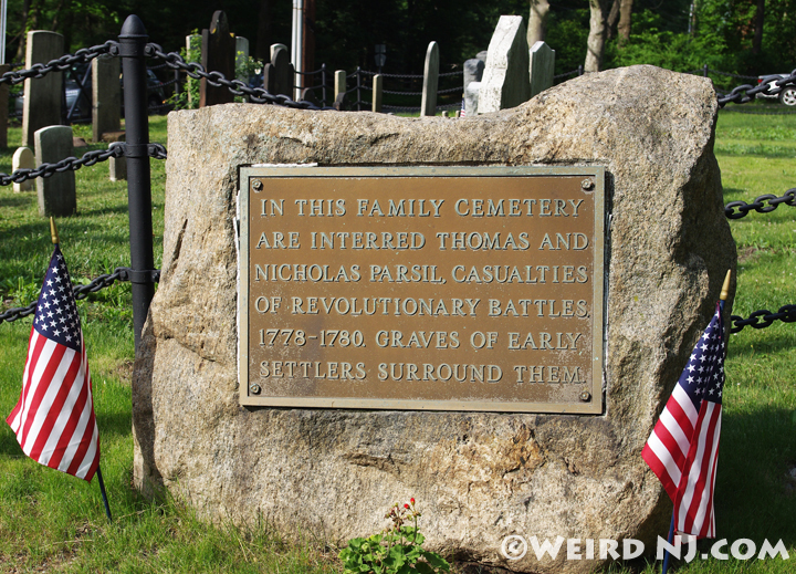 Parcell Family Marker