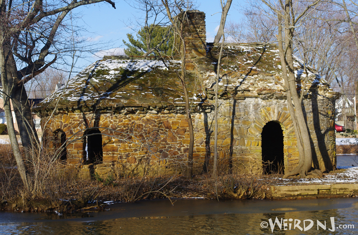 Mysterious Stone House At Takanassee Lake Long Branch