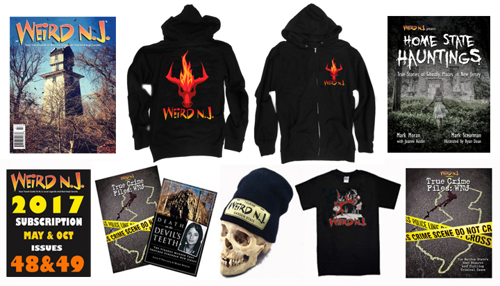 This holiday season give that hard-to-shop-for person on your shopping list the gift of weirdness with a 2017 subscription, one of our Wicked New Hoodie, a Special Issue, Skull Cap or any of our other great stocking stuffers. All available through our Web Site or Amazon Store.