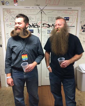 Backstage Beards