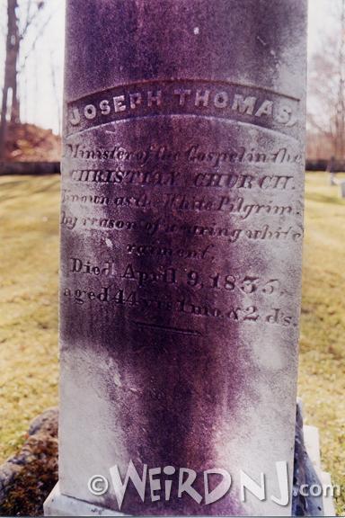 Pilgrim Grave Detail