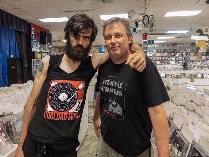 Cool Dad & Patrick Sickles of Titus Andronicus pic by Matt Chrystal
