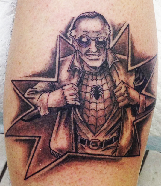 Jay Stan Lee Tattoo