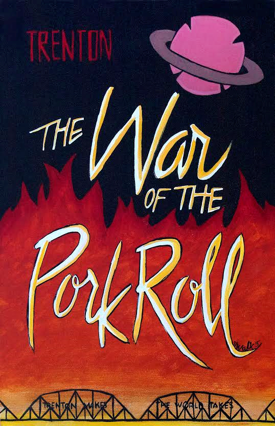 Jodi Pork Roll Art