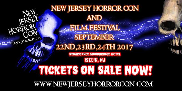 Horror Con Banner