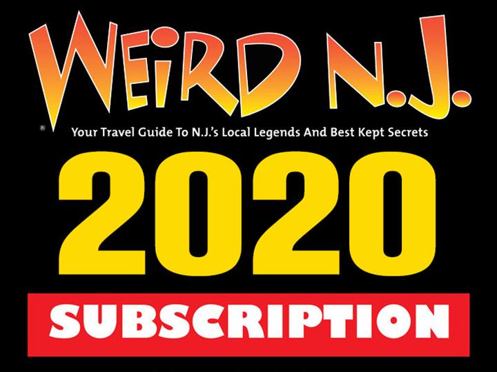 Weird New Jersey Magazine Subscription 5