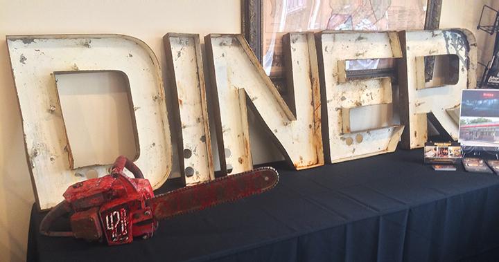 Museum Diner Sign-MM